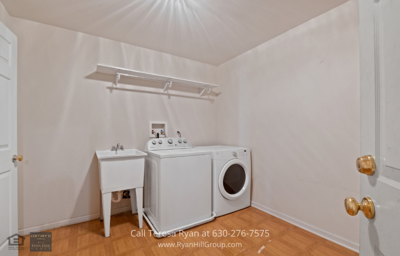 Real estate for sale in Streamwood, IL - There is a separate laundry room in this Streamwood, IL property.