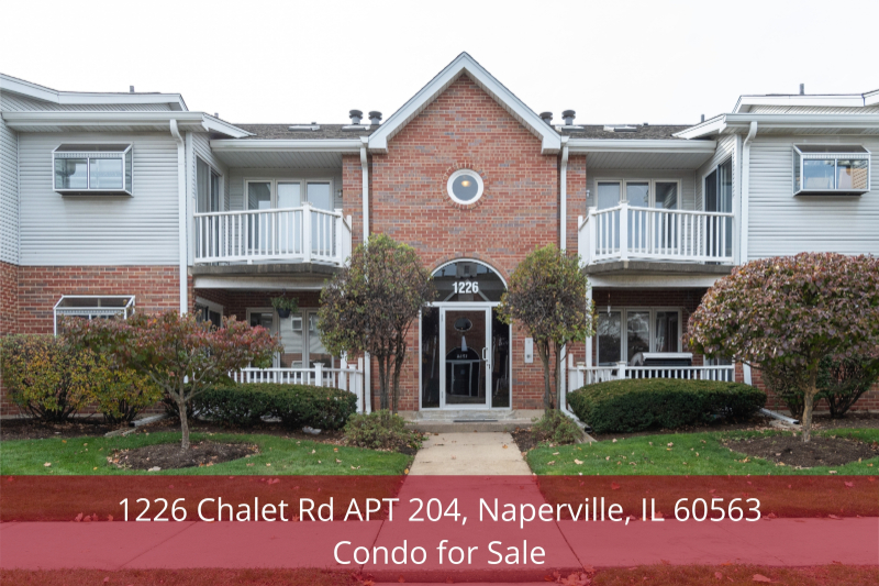 Naperville IL condo for sale- Comfort and convenience are yours in this beautiful condo for sale in Naperville IL.