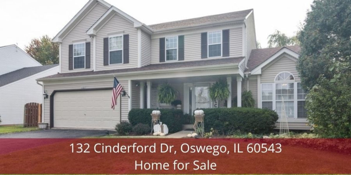 Oswego IL home for sale- Comfort, convenience, and space are yours to enjoy in this Oswego IL home for sale.