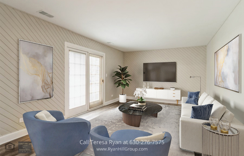 Downtown Aurora IL Homes for sale - This Aurora IL Homes' lovely family room is the ideal place to unwind and enjoy the company of family and friends.