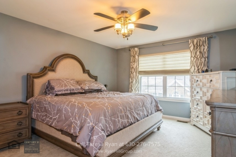Naperville, IL home - Have a peaceful slumber in the master bedroom of this Naperville, IL home