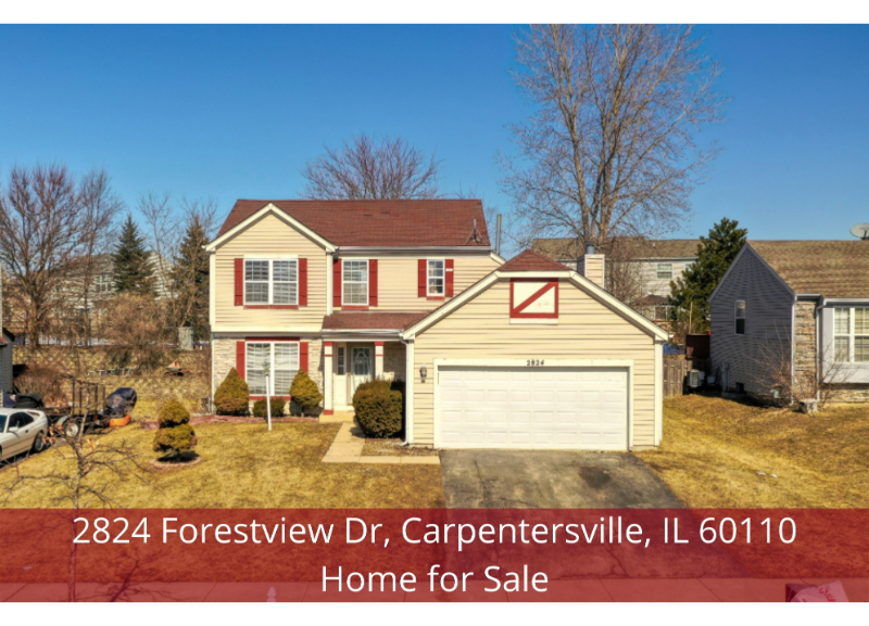 Carpentersville IL home for sale- Experience life's simple pleasures in this Carpentersville IL home for sale.