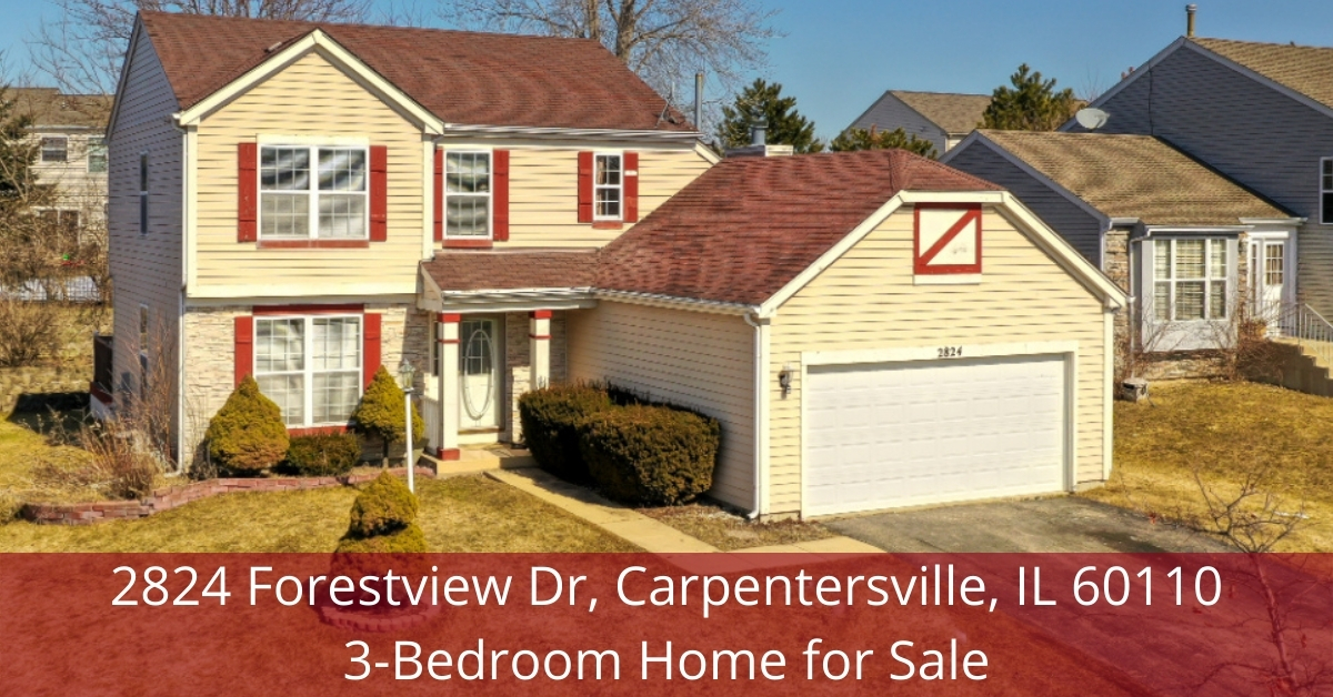 Home for sale in Carpentersville IL- Be the proud owner of this Carpentersville IL home for sale.