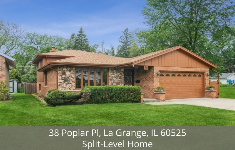 La Grange IL 3-bedroom home for sale - This split-level home is a great place to call home.