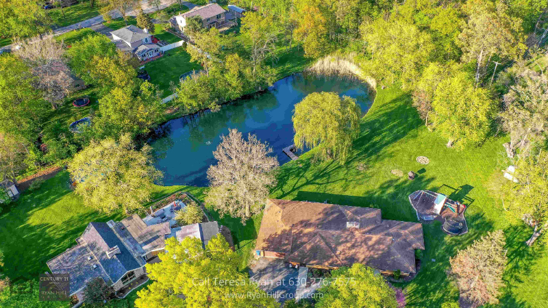 Bensenville, IL home - Embark on a hiking trail at the back of this house for sale in Bensenville, IL
