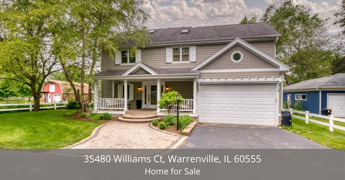 Warrenville, IL home for sale - This contemporary home is at a great location in a desirable community in Warrenville, IL