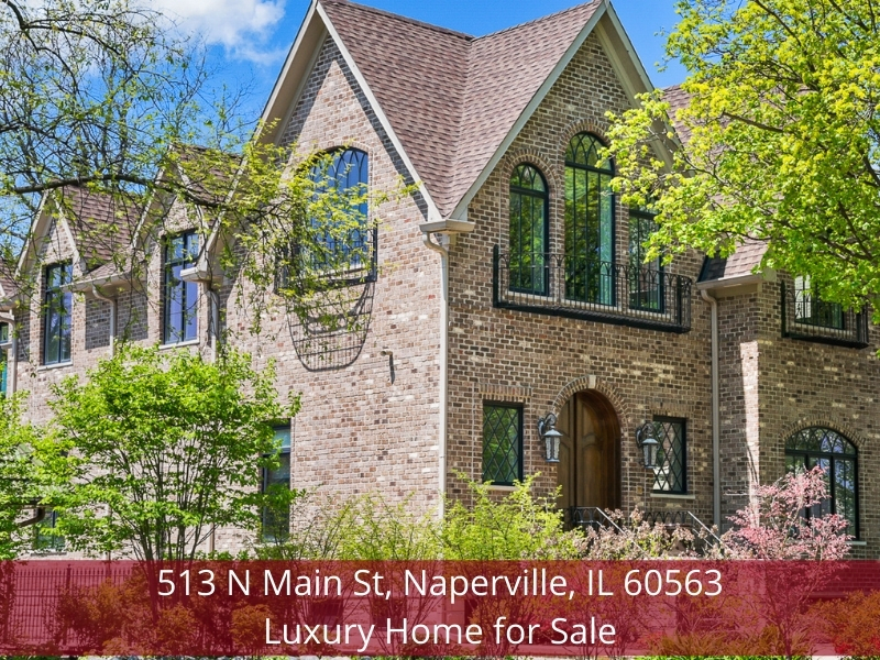 Naperville IL luxury home for sale- The ultimate in comfort, elegance, and privacy are yours in this Naperville IL luxury home for sale.