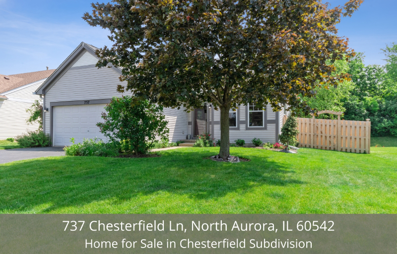 North Aurora, IL home for sale - This home in North Aurora, IL offers a peaceful retreat in a desirable neighborhood in Chesterfield subdivision