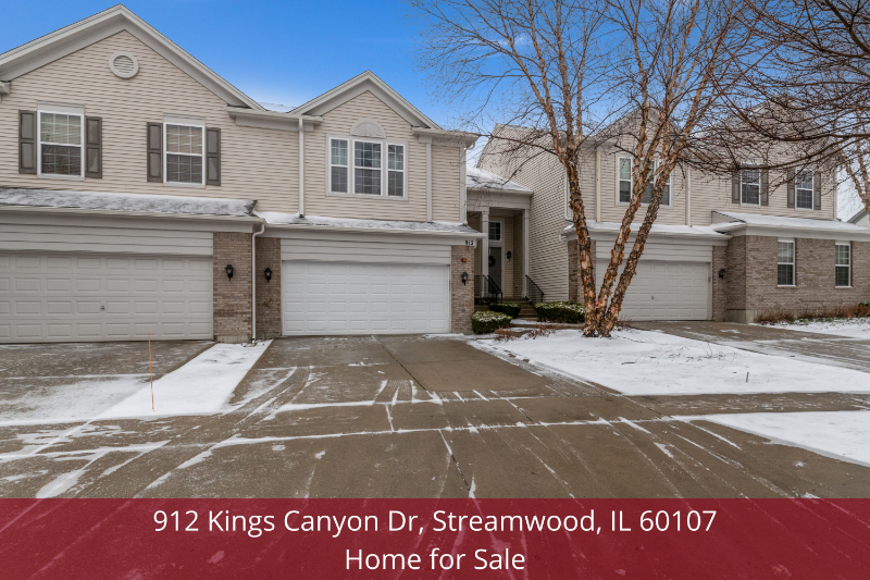 Streamwood IL home for sale- Enjoy a peaceful and comfortable lifestyle in this Streamwood IL home for sale.