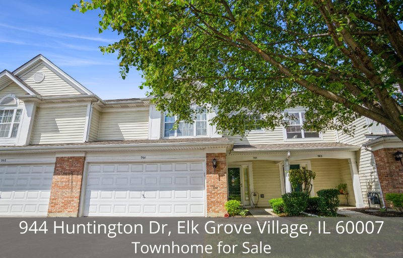 Home for Sale in Elk Grove Village IL - You will love this ideally located townhome for sale in Elk Grove Village IL.