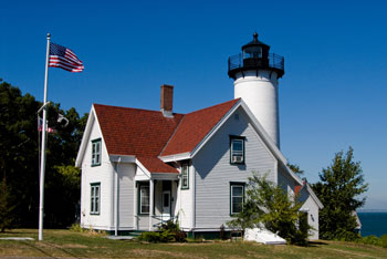 West Chop Lighthouse in Vineyard Haven