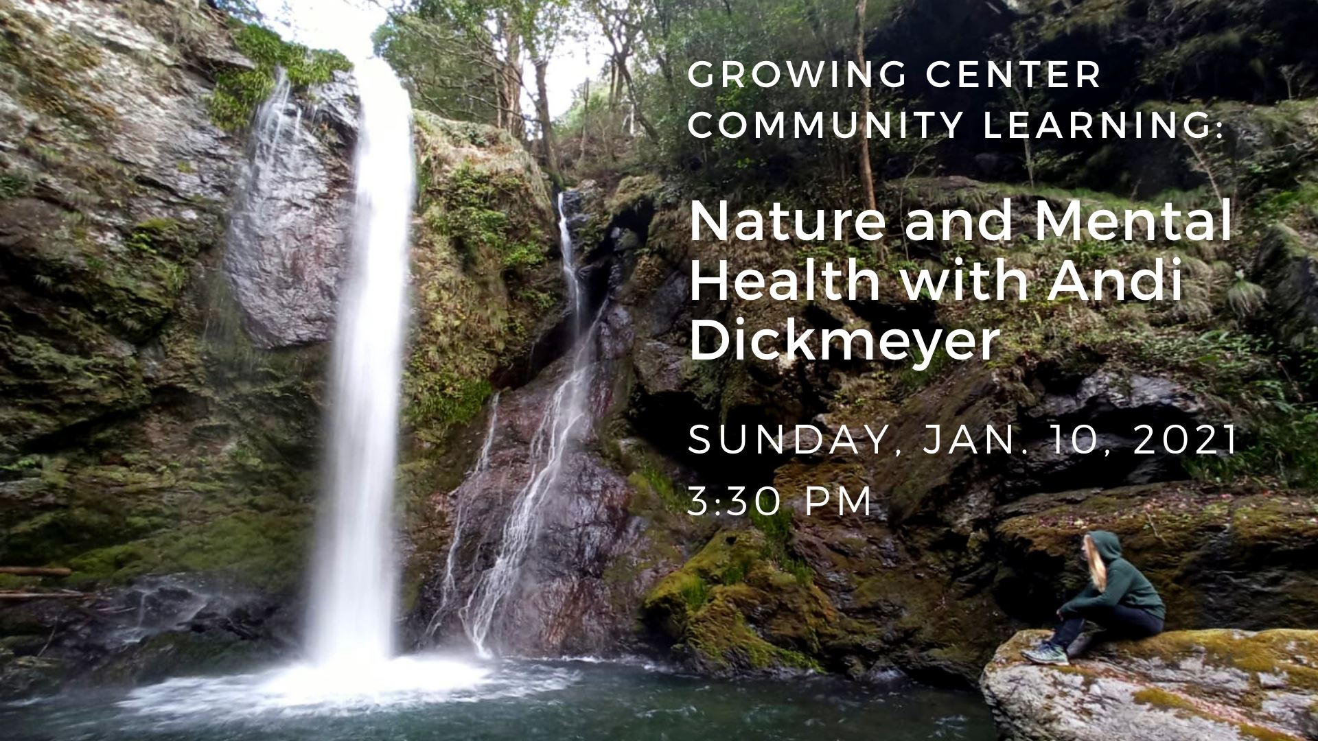 Nature & Mental Health with Andi DIckmeyer