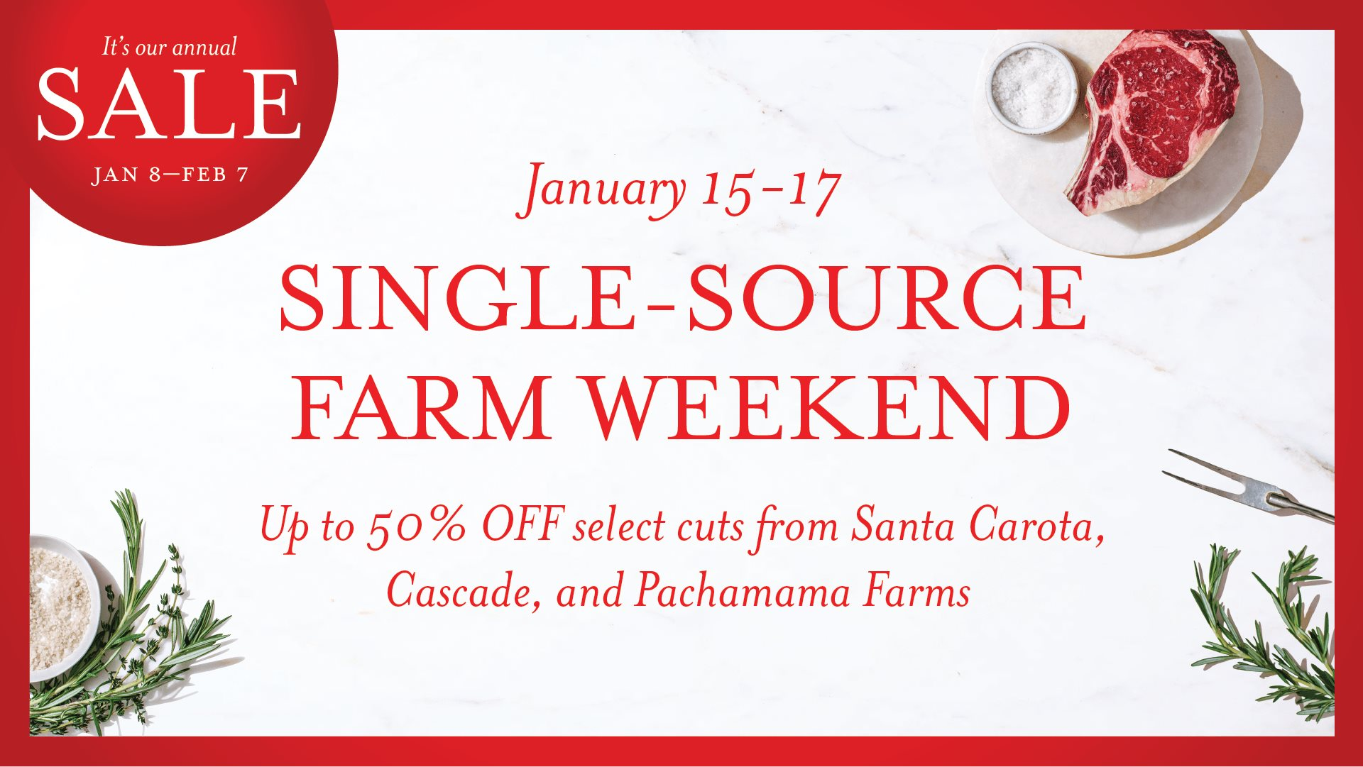 Single Source Farm Weekend at Eataly Boston.