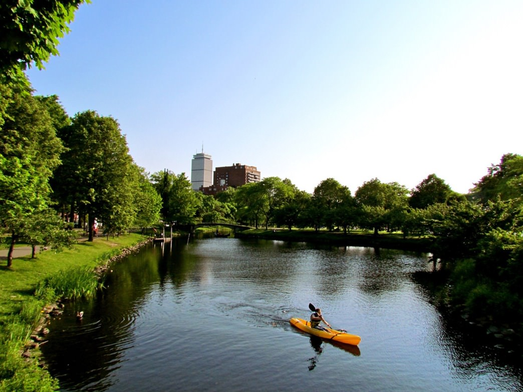 Community Boating Kayak Rentals on the Charles River