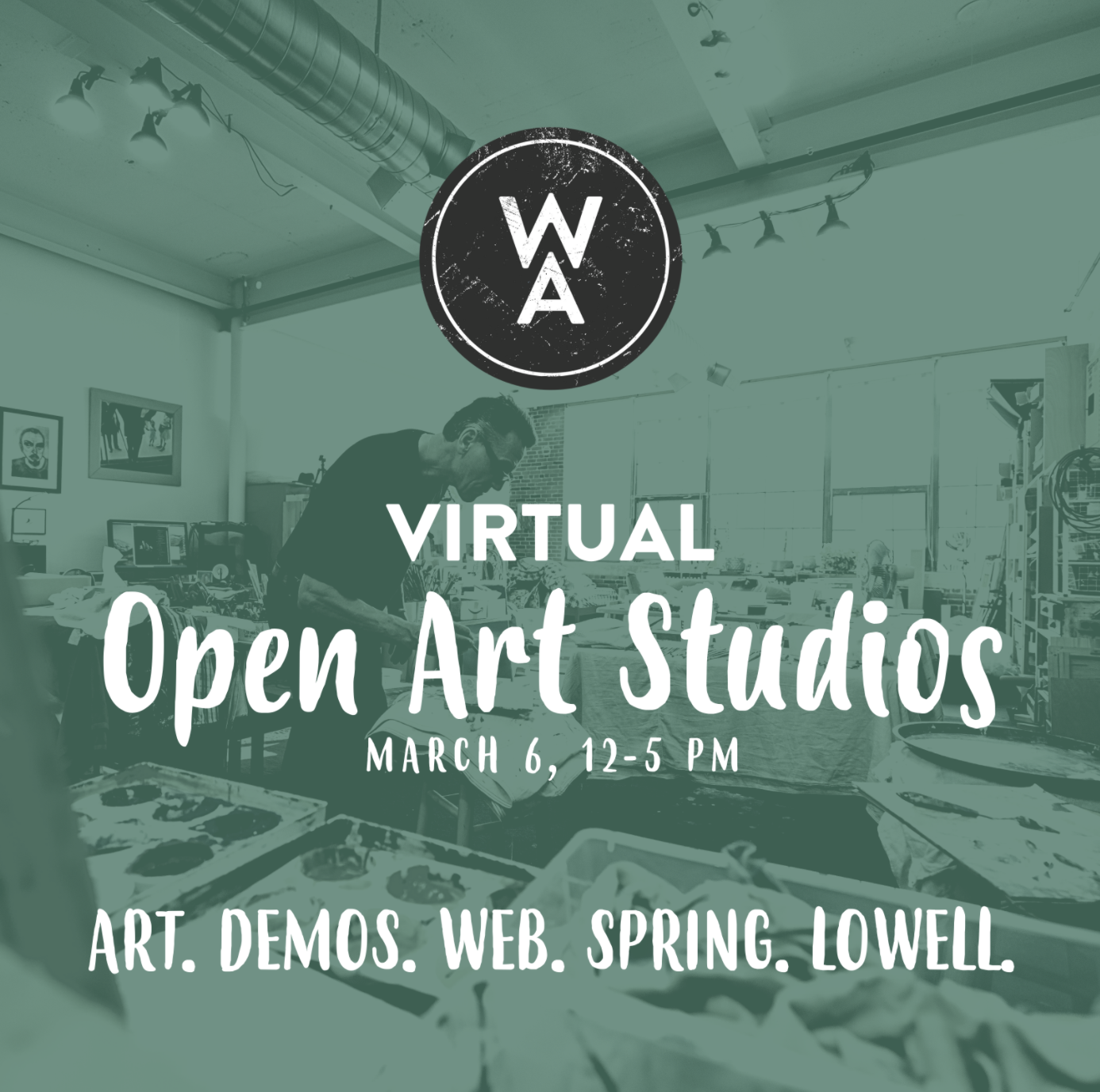 March Virtual Open Studios at Western Ave