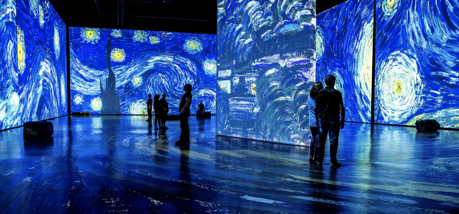 Imagine Van Gogh at SoWa