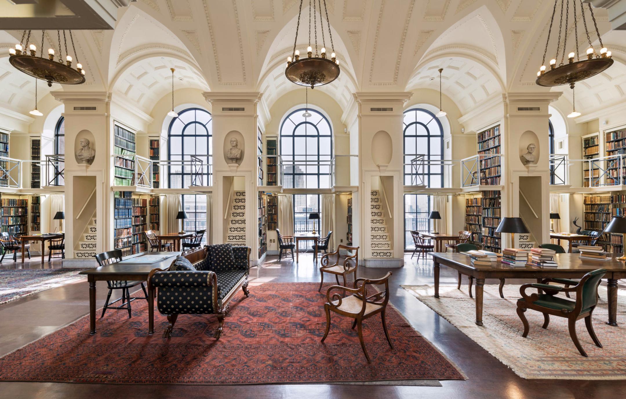 Virtual Tour of Boston's Athenaeum