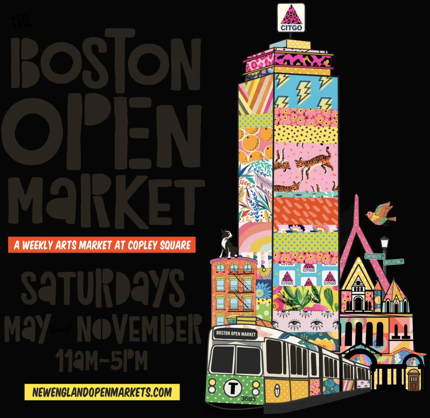 Boston Open Market at Copley Square