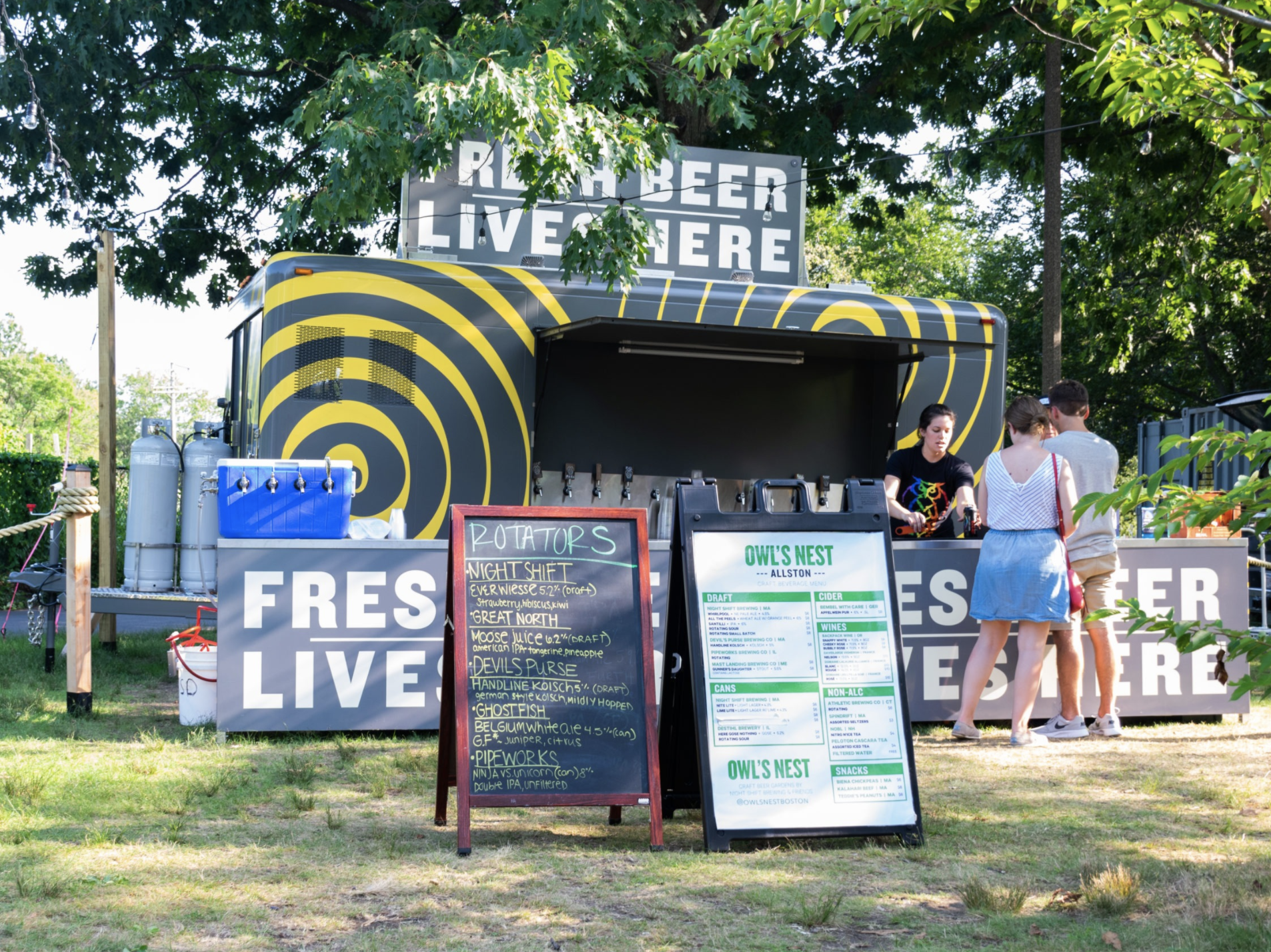 Owl's Nest Beer Garden