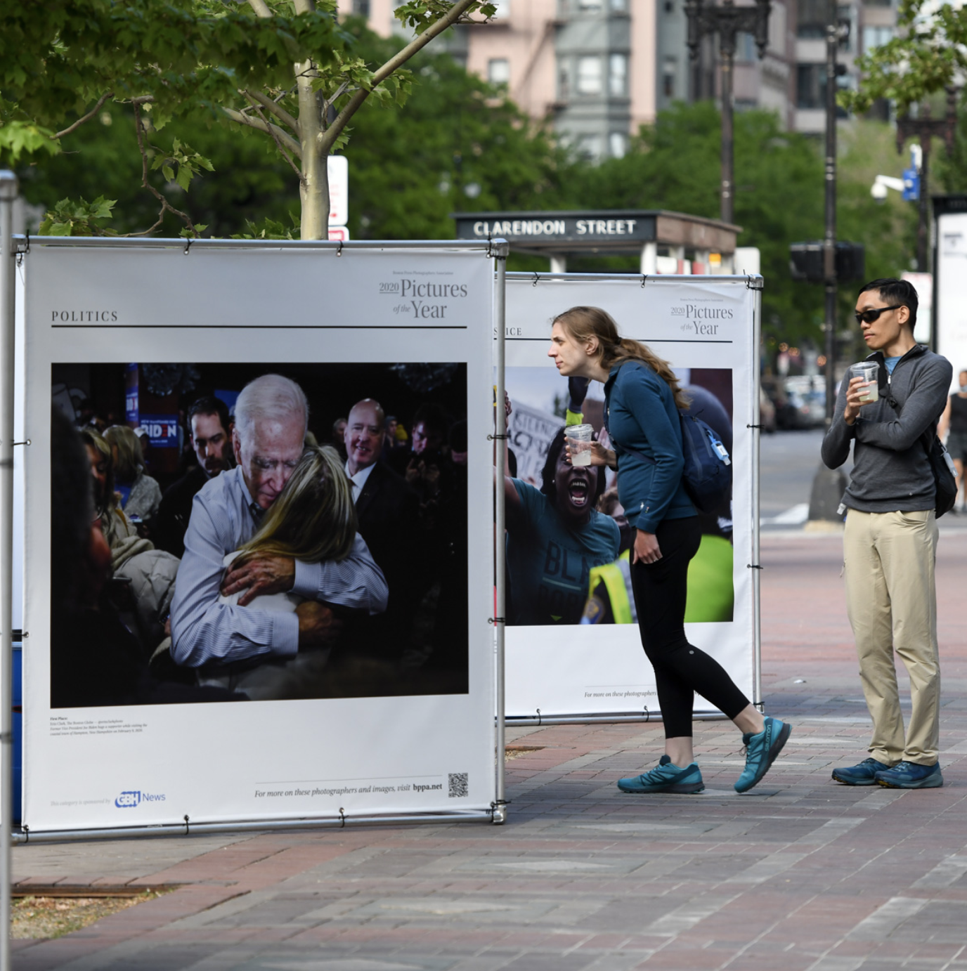 Pictures of the year at Copley Square