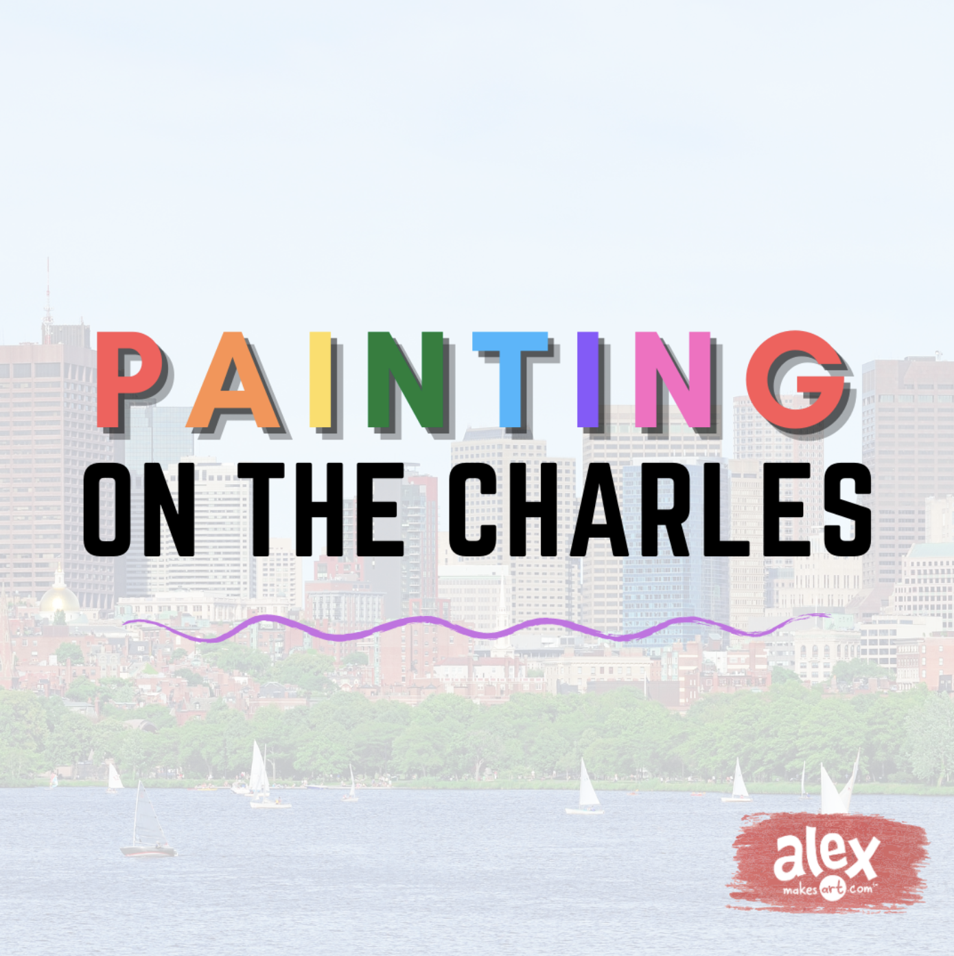 Painting on the Charles