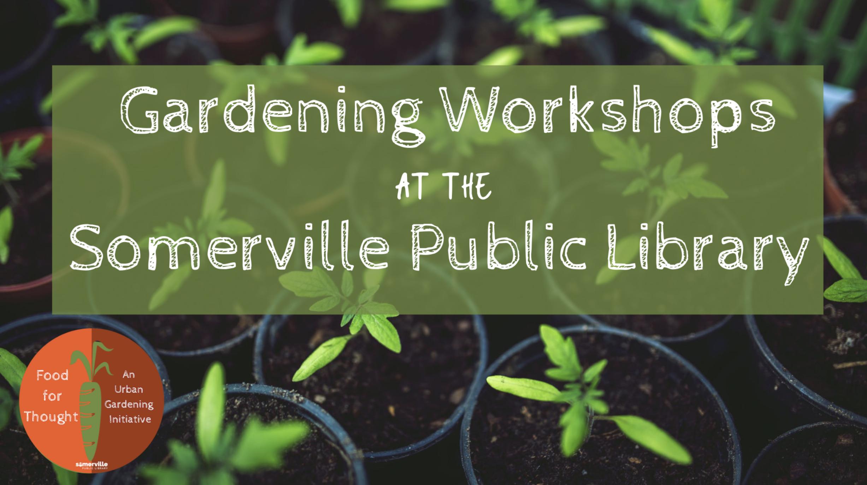 Gardening workshop in Somerville