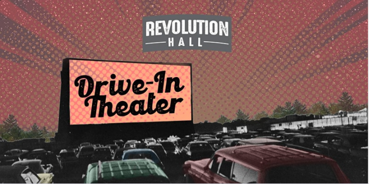 Drive-In Theater at Revolution Hall, Lexington, MA.