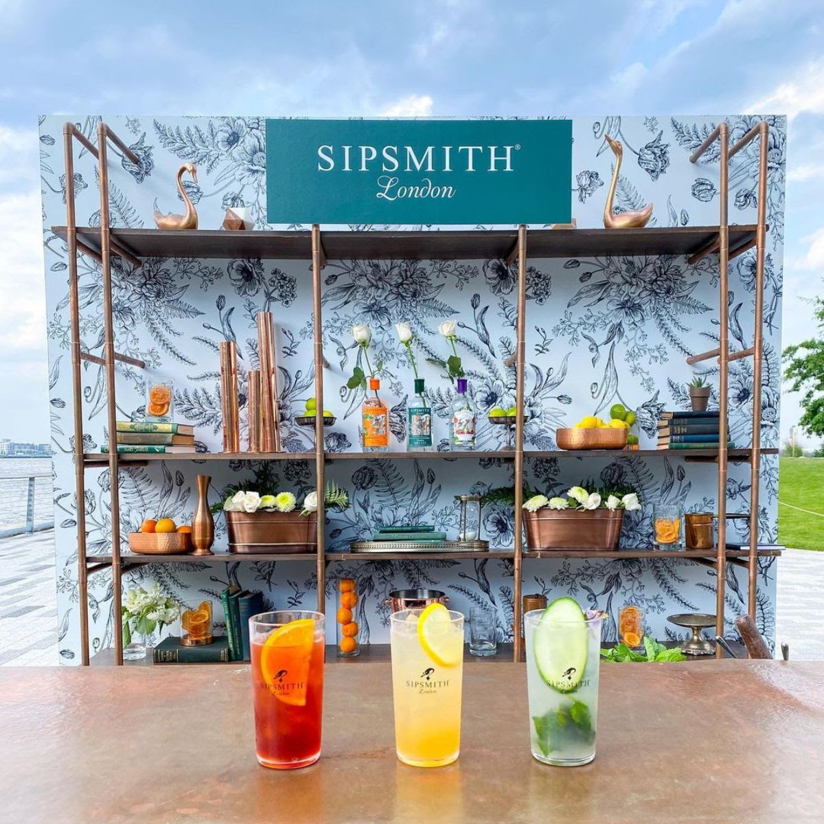 SipSmith Pop-Up Bar in Seaport