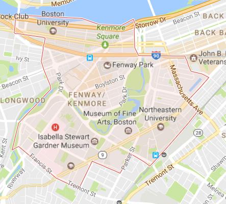 Fenway Map