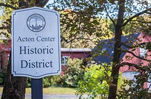 Acton Center Historic District