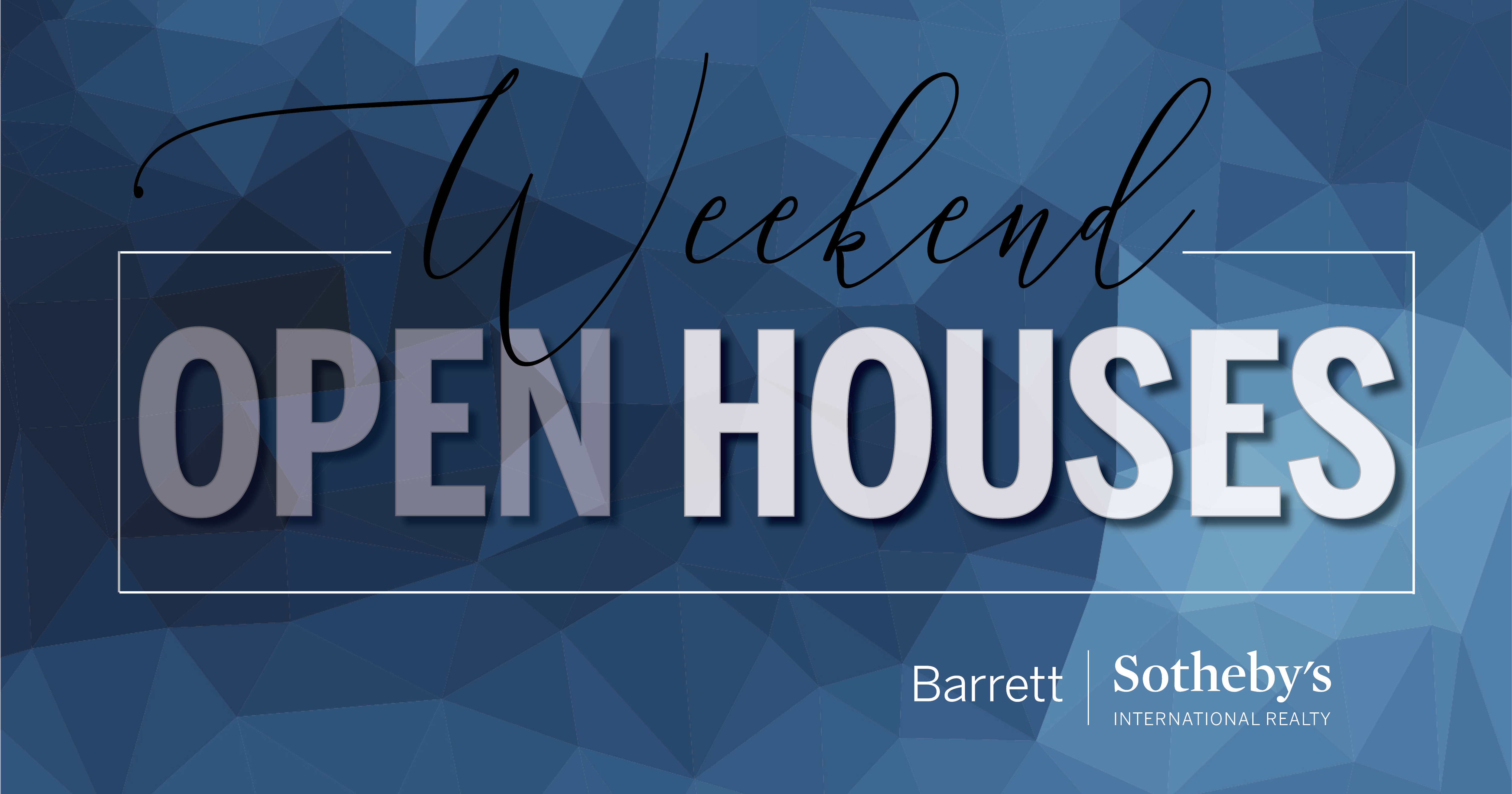 Barrett Sotheby's Open Houses