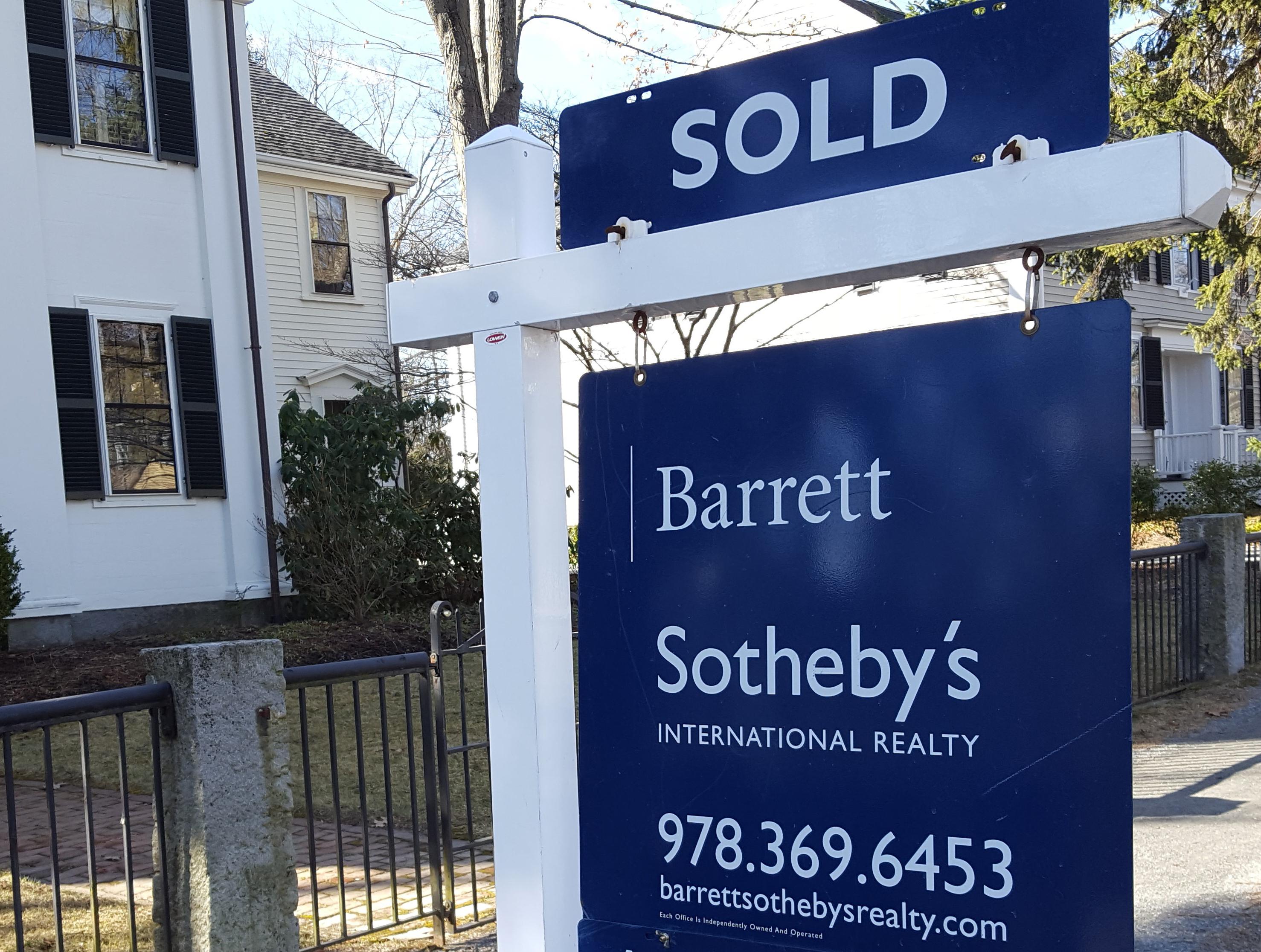 Barrett Sotheby's International Realty: Sold Sign