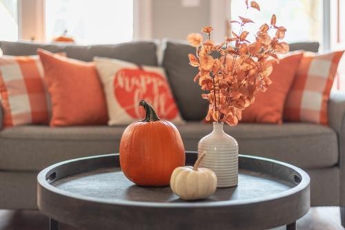 Fall Decor - Living Room