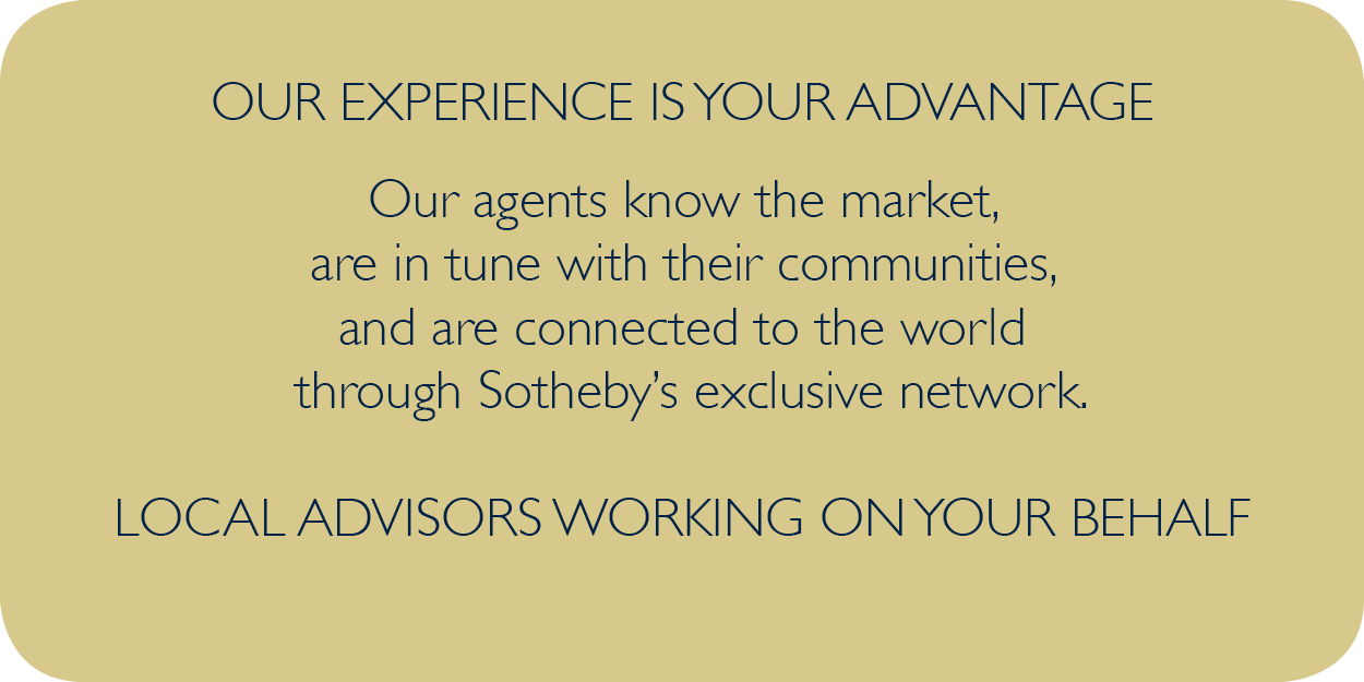 our experience is your advantage info graphic