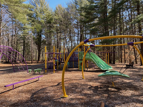 Playground in Rockland