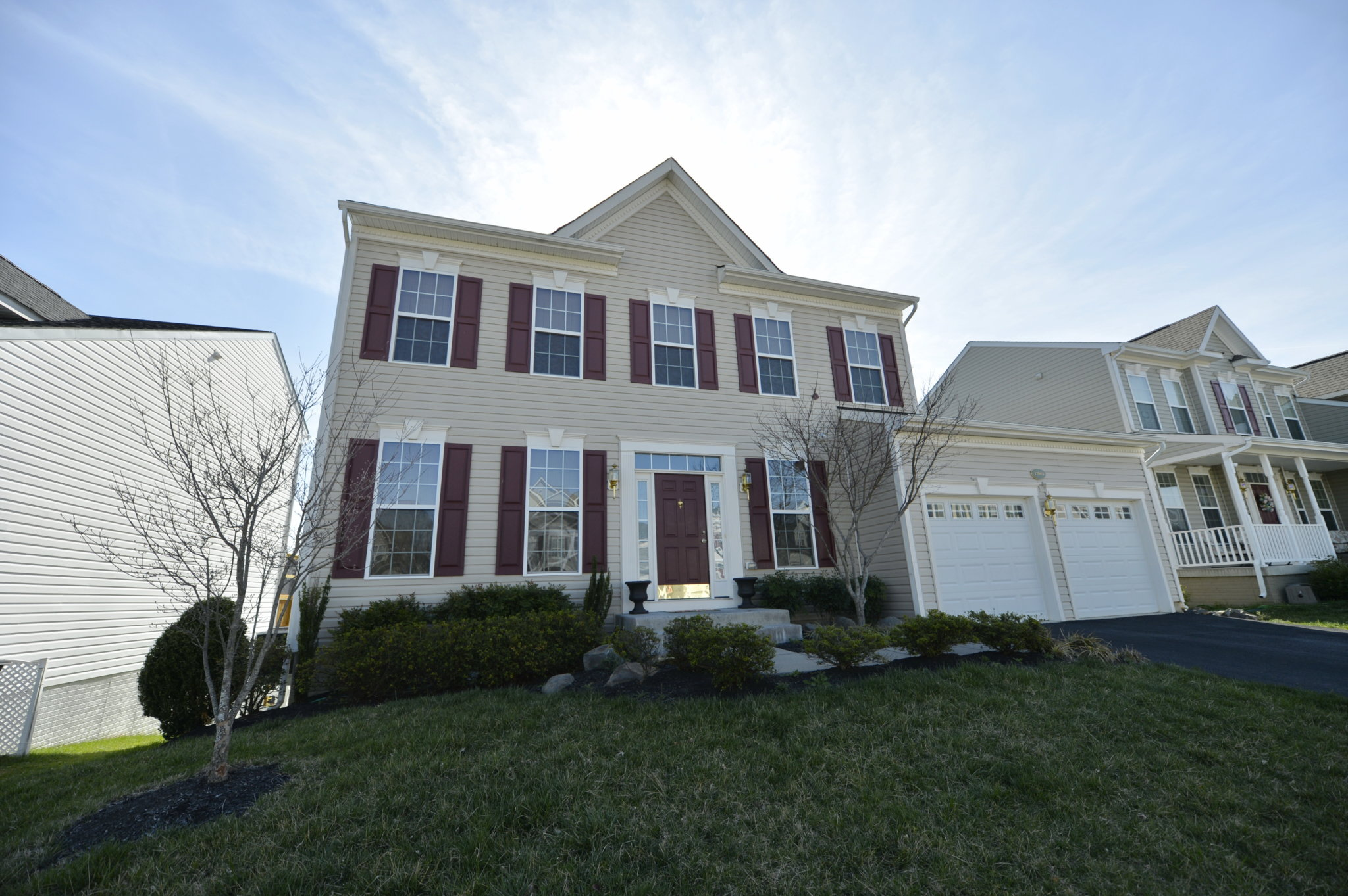 Image of Front of House at 17662 Cleveland Park Drive in Round Hill, Virginia