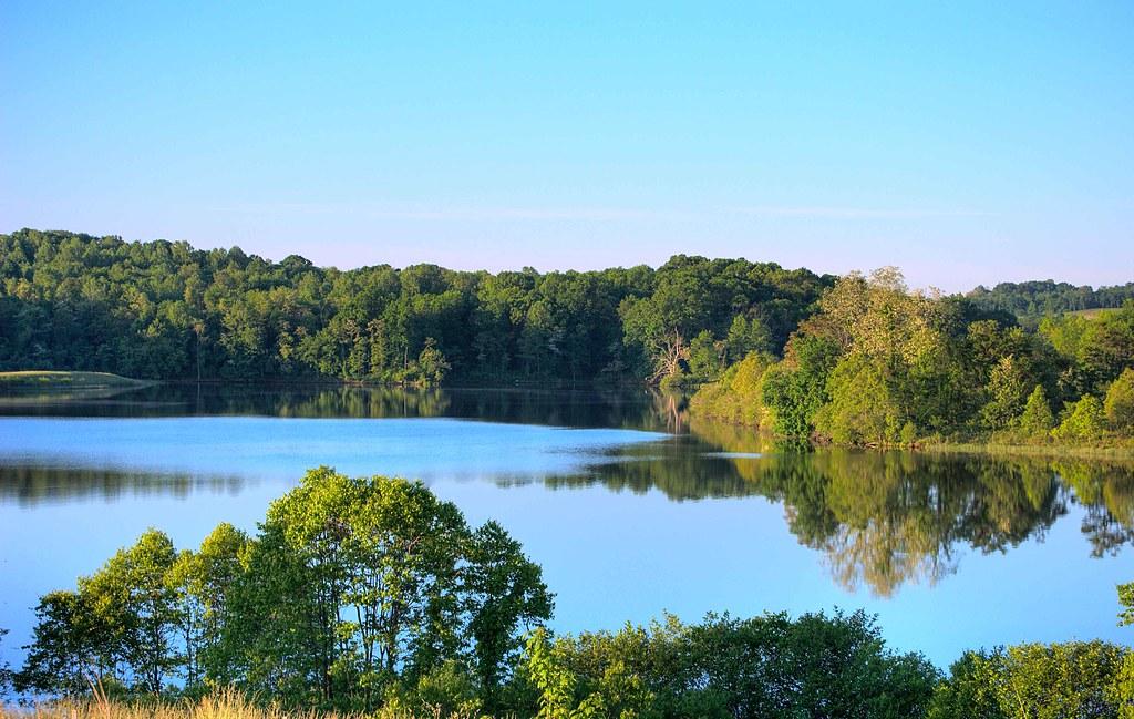 Sleeter Lake in Round Hill Virginia