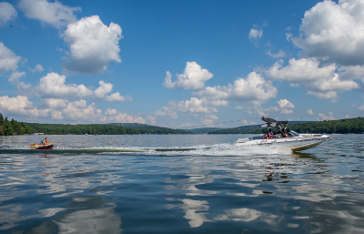 Boating and Tubing at Deep Creek Lake