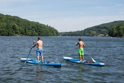 Stand Up Paddleboarding on Deep Creek Lake