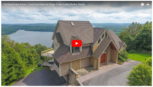 Railey Realty Home Tour Videos   Deep Creek Lake   Garrett County