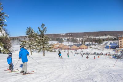Skiing at Wisp Resort