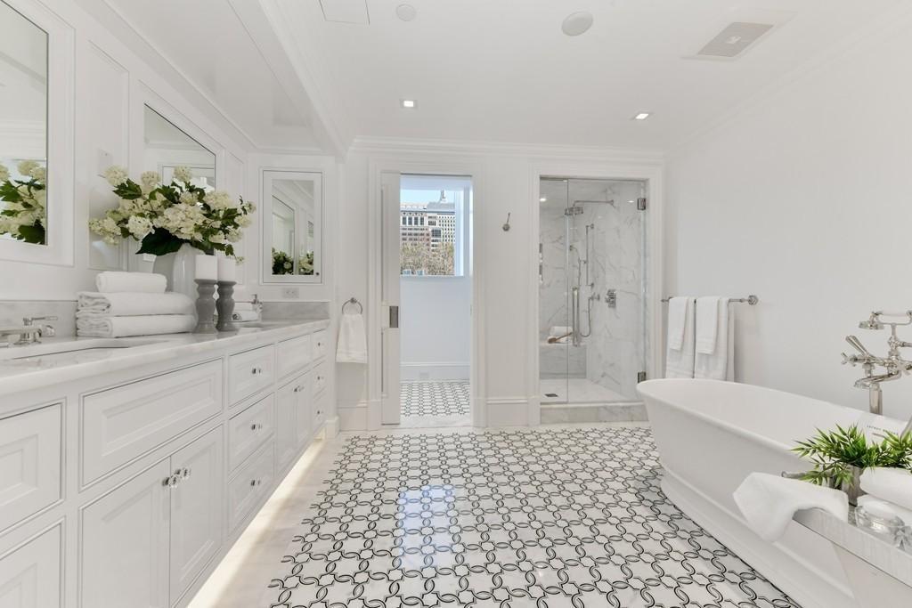 Back Bay Condo: Bathroom