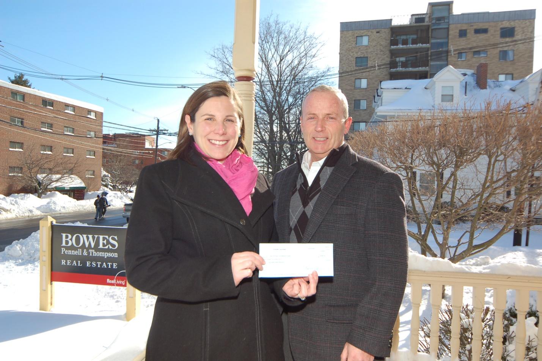 Steve McKenna donation to Arlington Fuel Assistance