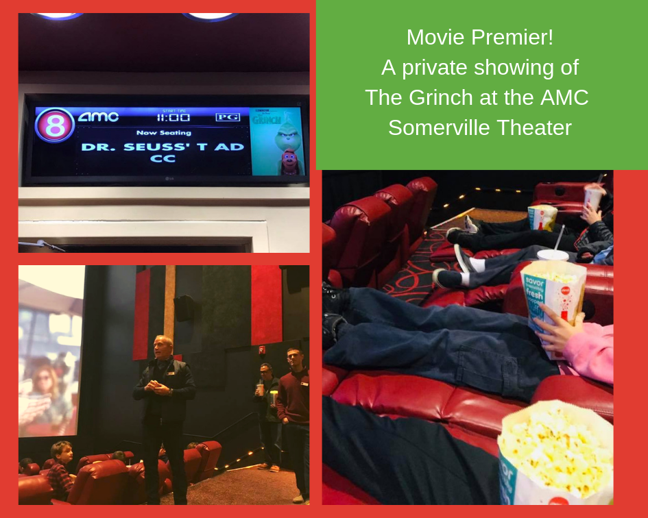 The Home Advantage Team Client Event: The Grinch Showing