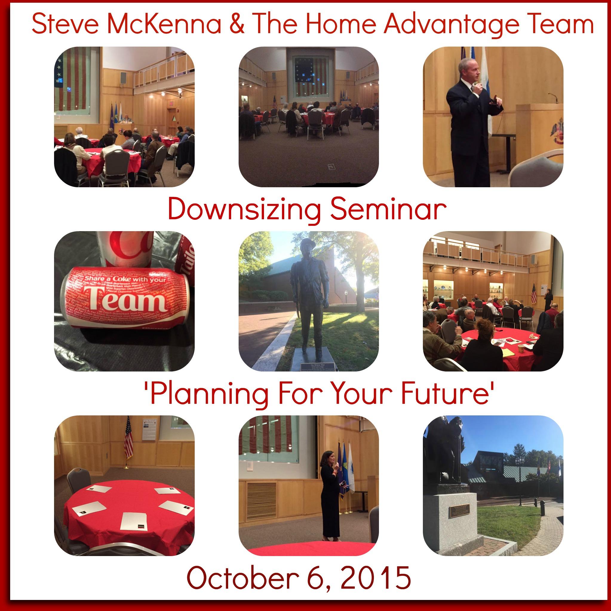 Fall Downsizing Seminar