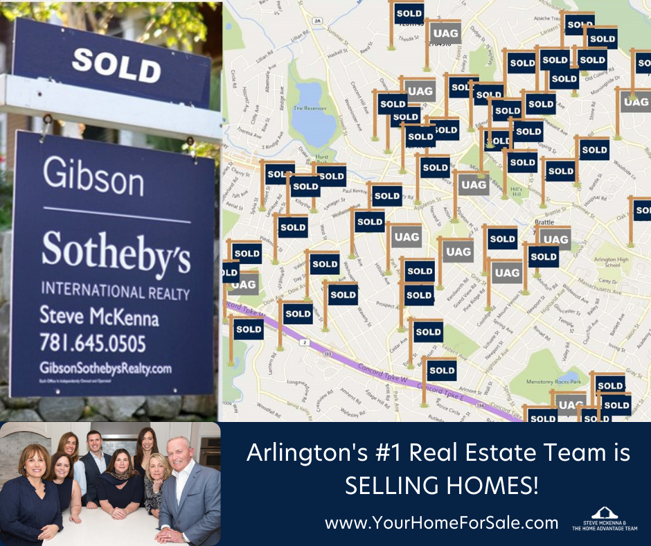 Arlington MA #1 Real Estate Team is Selling Homes