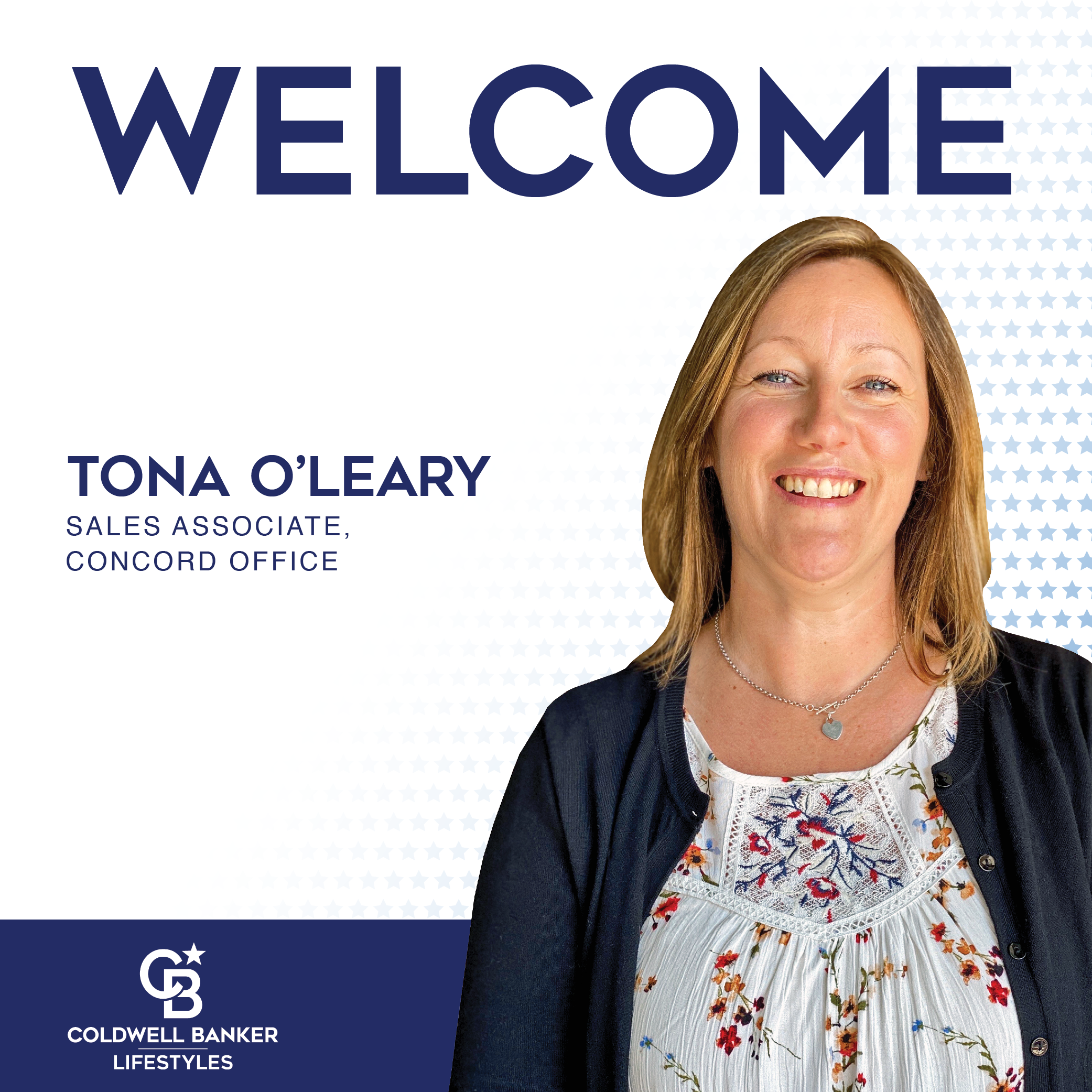 Tona O'Leary, Sales Associate, Concord Office