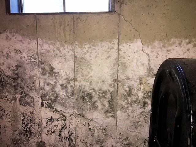 crumbling basement in willington ct