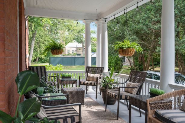Patio with Seating Area