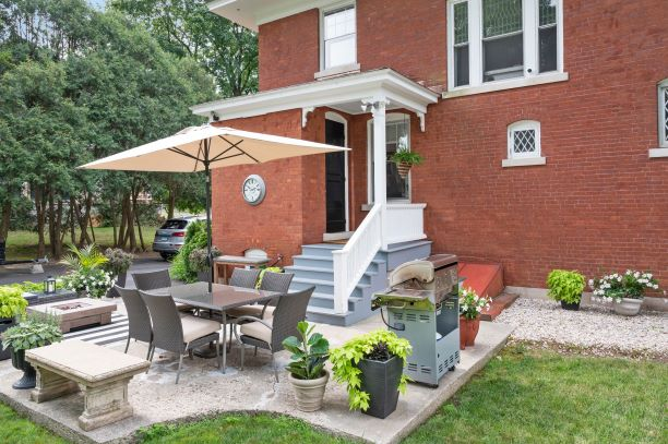Outdoor Seating Area and Well Landscaped Yard